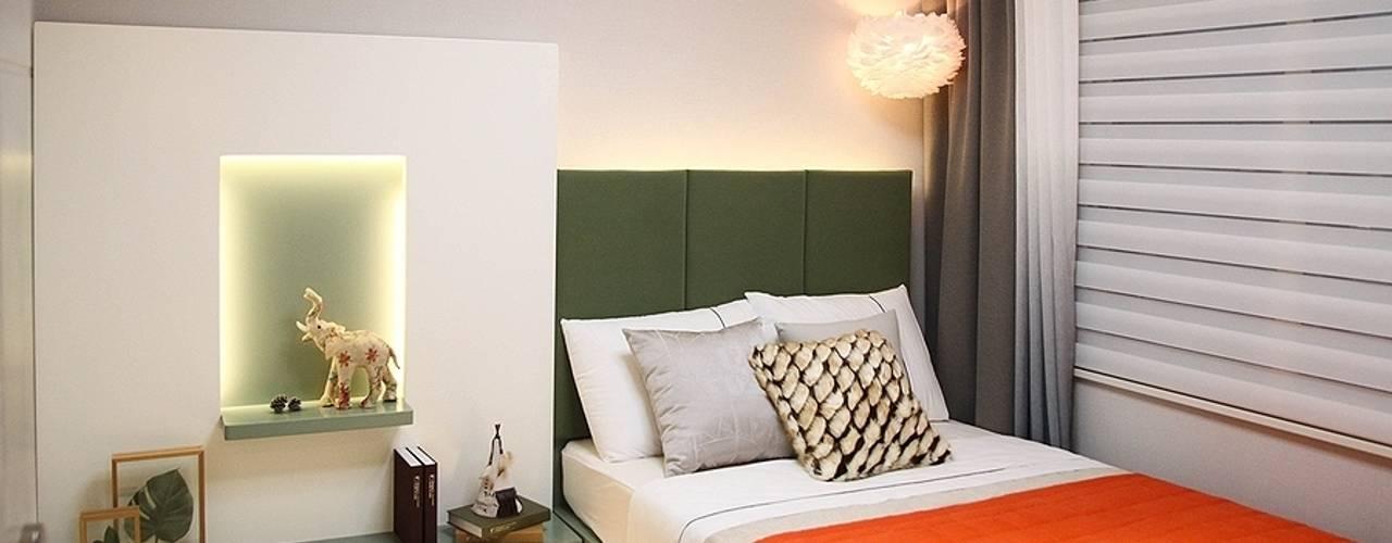 غرفة نوم تنفيذ 노마드디자인 / Nomad design