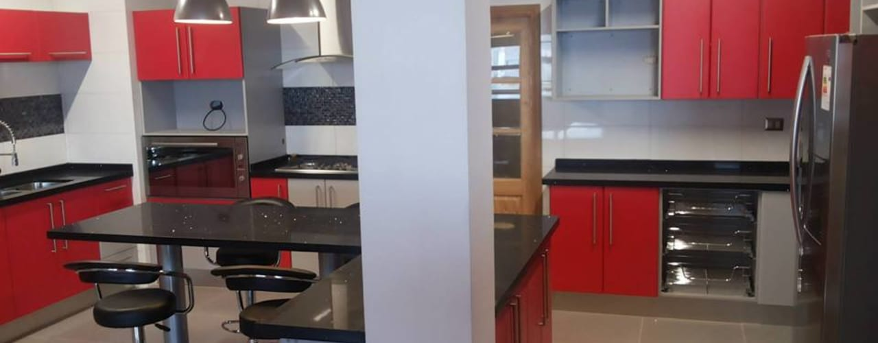 Muebles de cocina Puerto Montt:  de estilo  por Quo Design - Diseño de muebles a medida - Puerto Montt