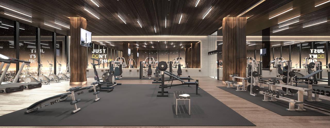 Modern Gym by Rapzzodia Interiorismo Modern
