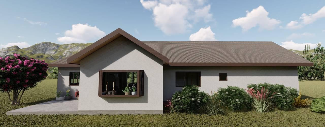 Casas de campo de estilo  por Ekeko arquitectura  - Coquimbo