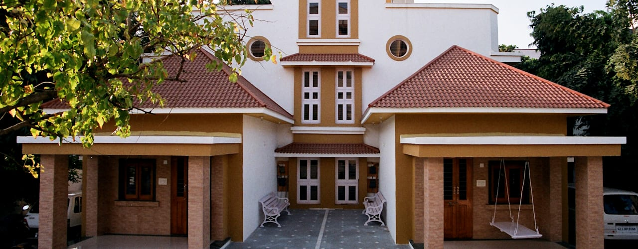 3BHK Twin Bungalow in Ahmedabad:  Bungalows by Rushabh consultancy