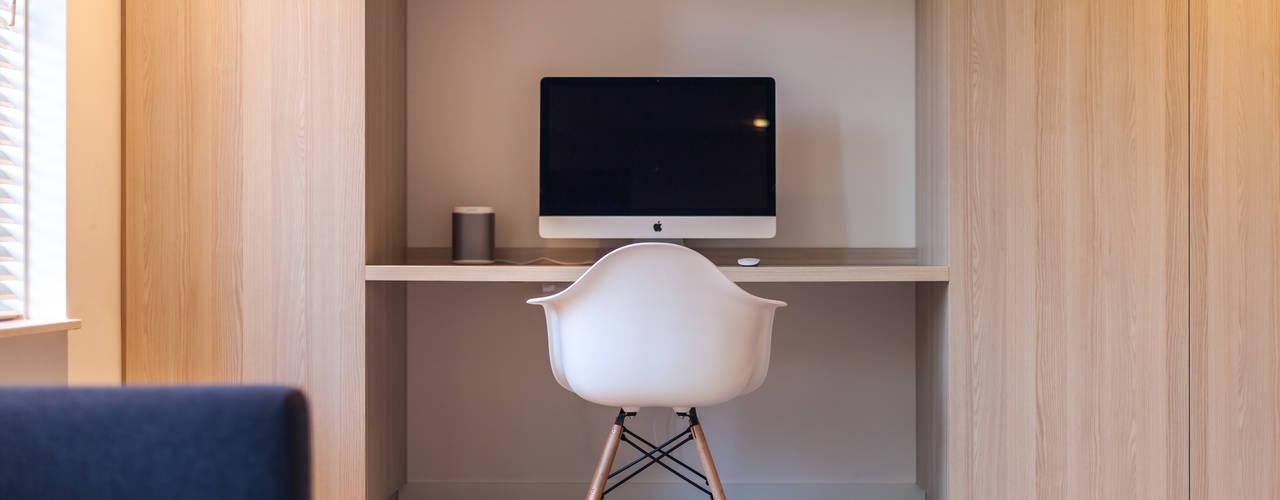 Ontwerp fris en eigentijds interieur Scandinavische studeerkamer van Bob Romijnders Architectuur + Interieur Scandinavisch