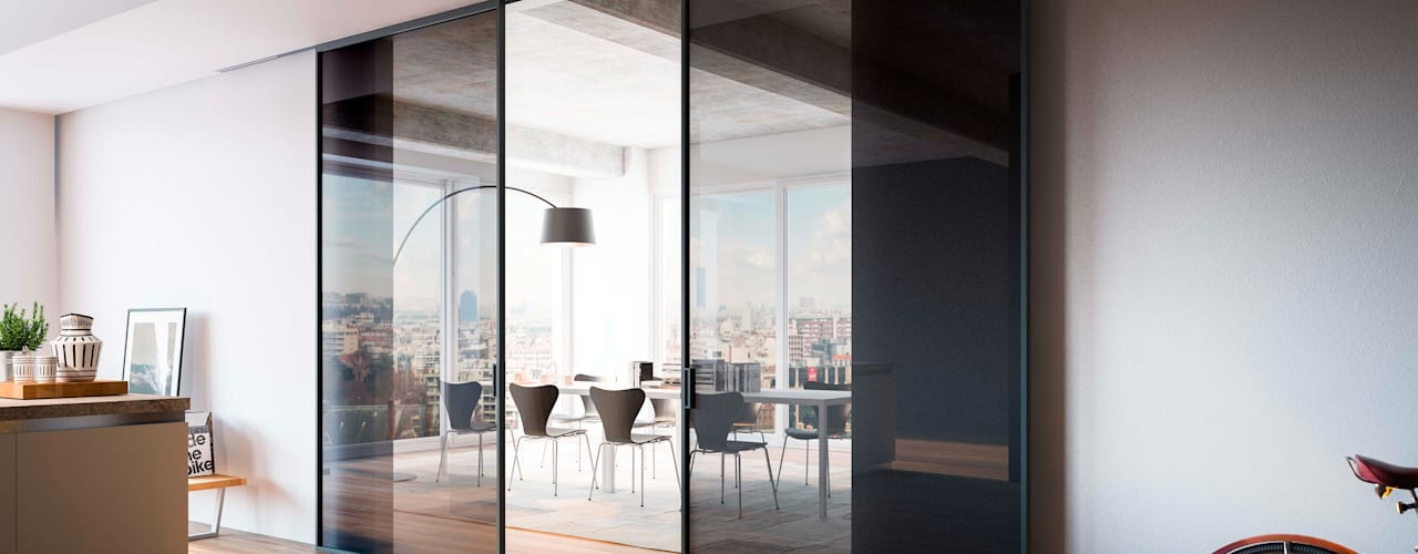 ADL Mitika Sliding Door:   by IQ Furniture,