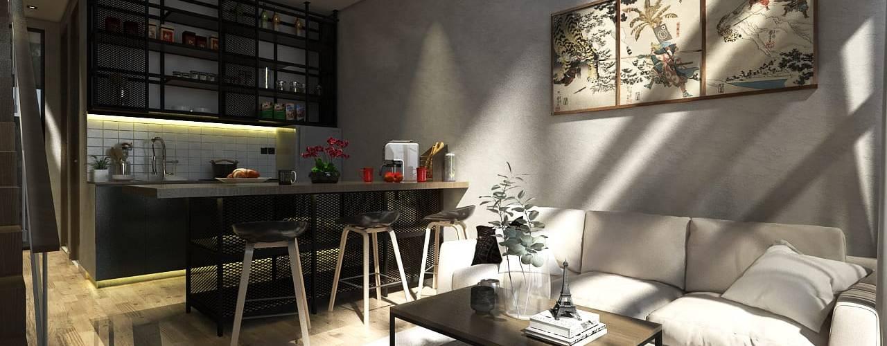 PS House:  Ruang Keluarga by Atelier BAOU+