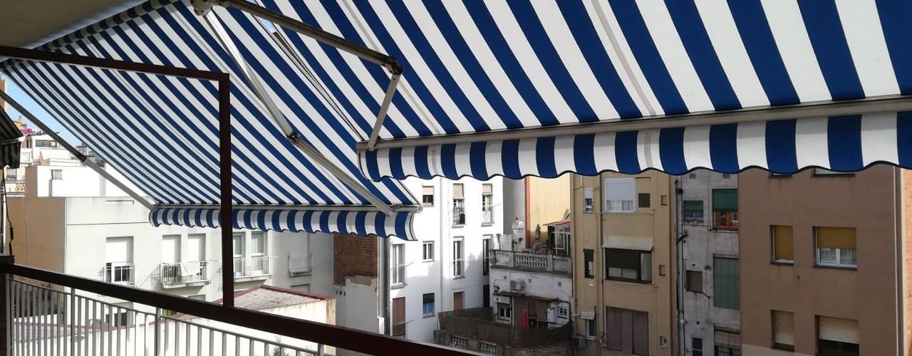 Toldos para terraza y jard n en barcelona - Toldos en barcelona ...