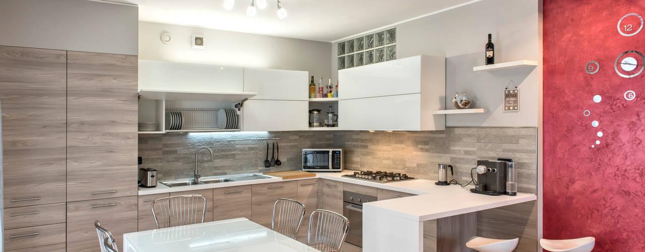 Cocinas de estilo moderno de Fab Arredamenti su Misura Moderno