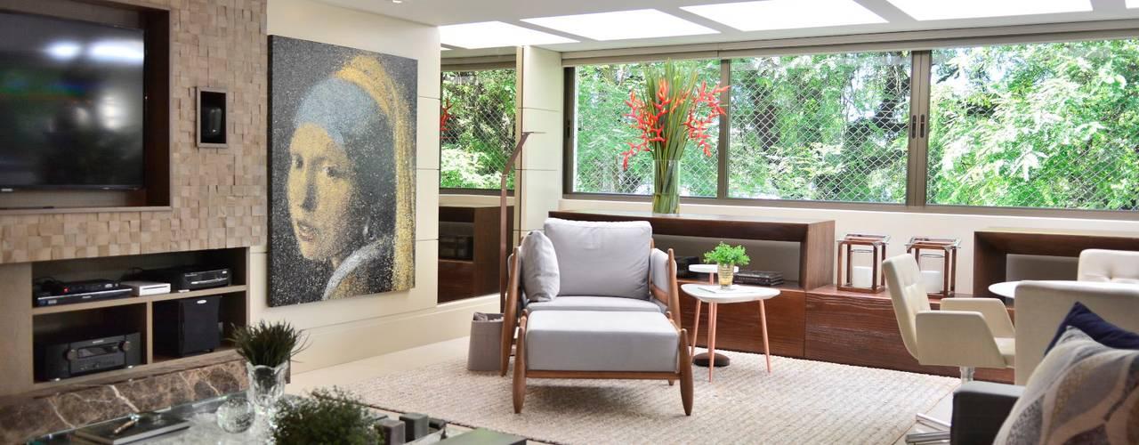 Moderne woonkamers van BG arquitetura | Projetos Comerciais Modern