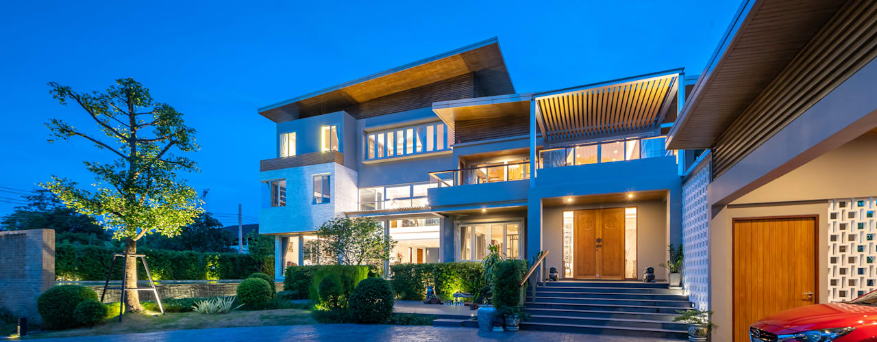LINEAGE HOUSES D' Architects Studio บ้านและที่อยู่อาศัย