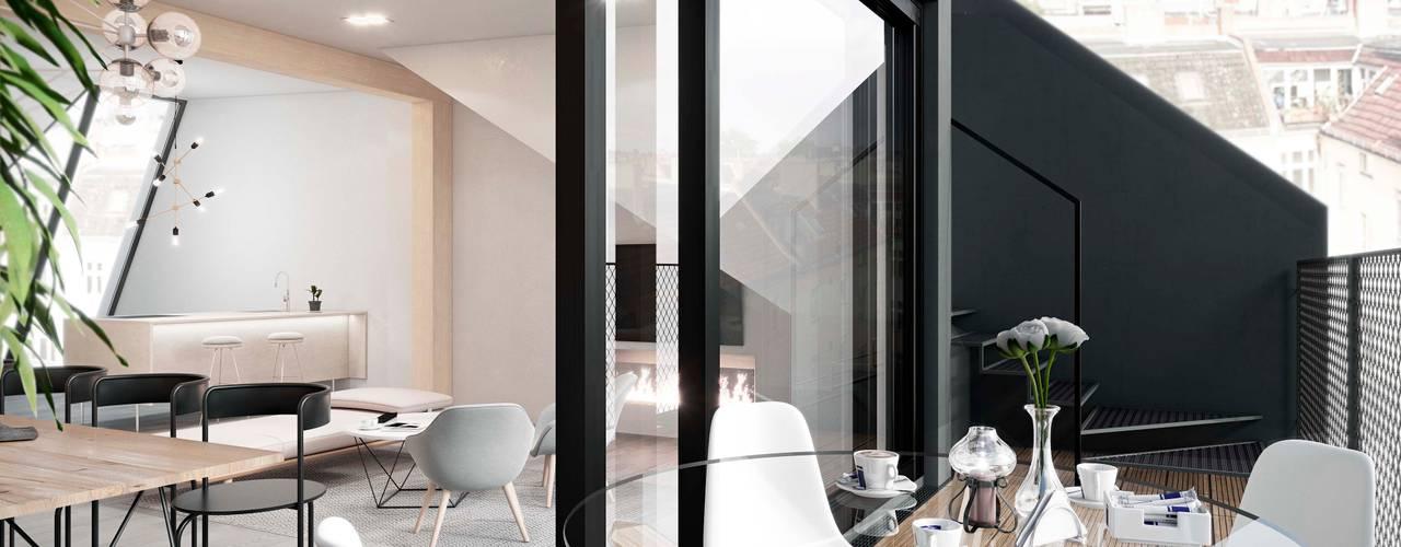 Terrace by HAA&D, HAGAR ABIRI/ ARCHITECTURE & DESIGN,