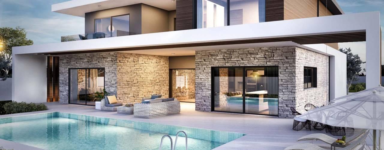 Güzelbahçe villa Modern Evler ANTE MİMARLIK Modern