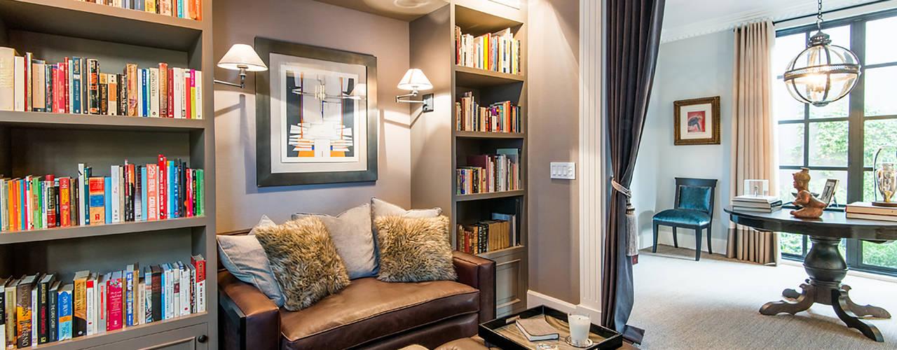 ห้องทำงาน/อ่านหนังสือ by KRESCH MORENO INTERIORES