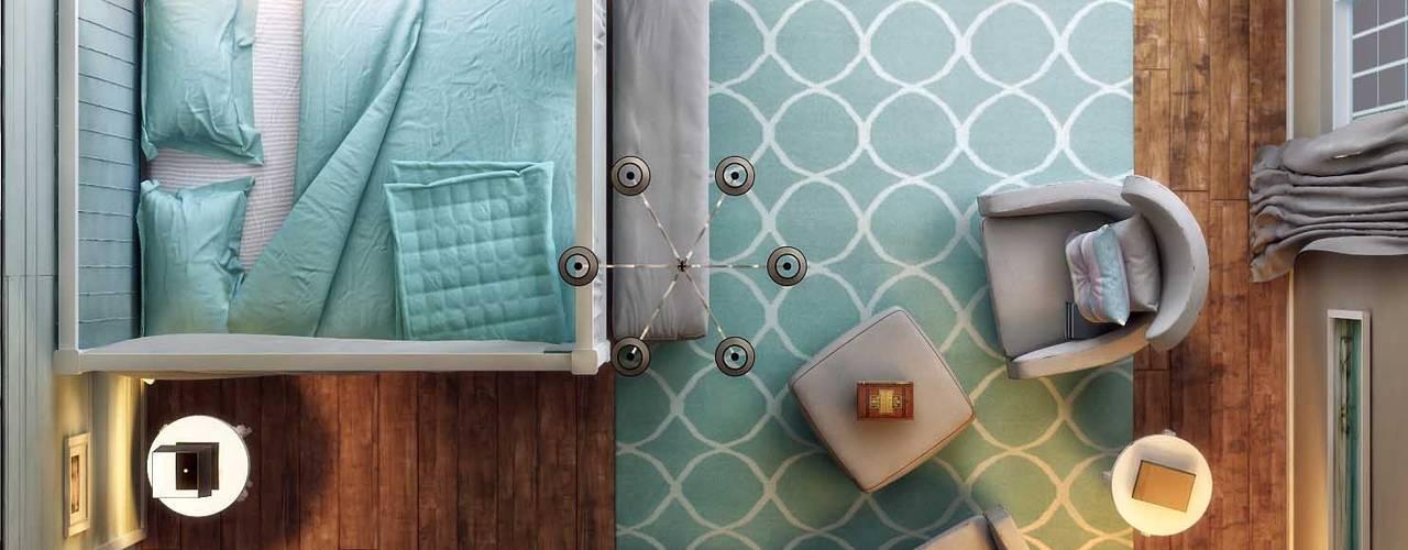 Modern style bedroom by ANTE MİMARLIK Modern