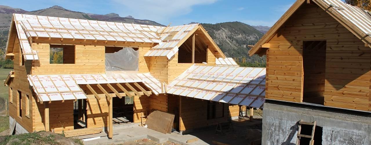 de Patagonia Log Homes - Arquitectos - Neuquén Clásico
