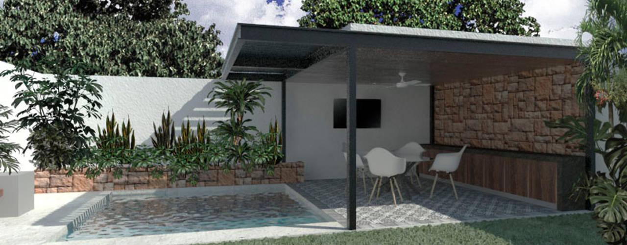 Diseño De Terrazas Para Casas En Mérida