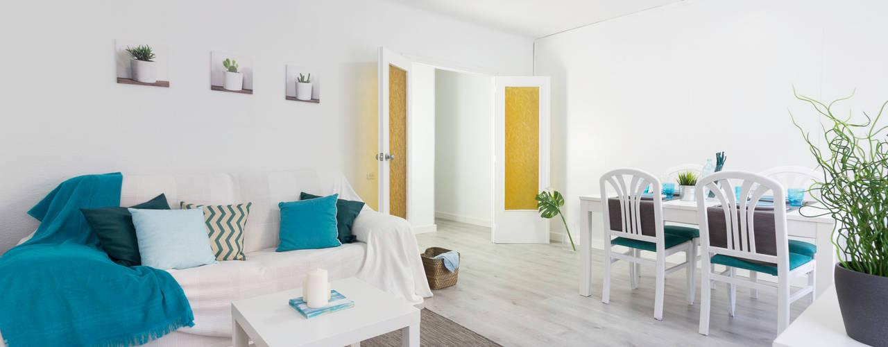 Home staging en un piso para alquilar en barcelona Home staging barcelona