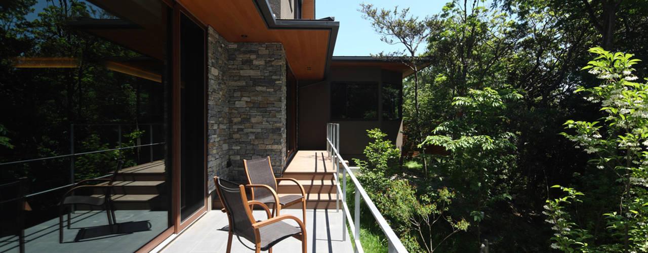 Studio tanpopo-gumi 一級建築士事務所의  전원 주택