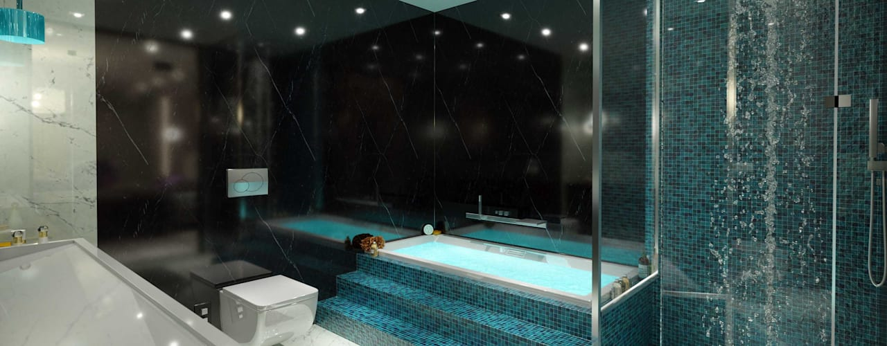 Baños modernos de ANTE MİMARLIK Moderno