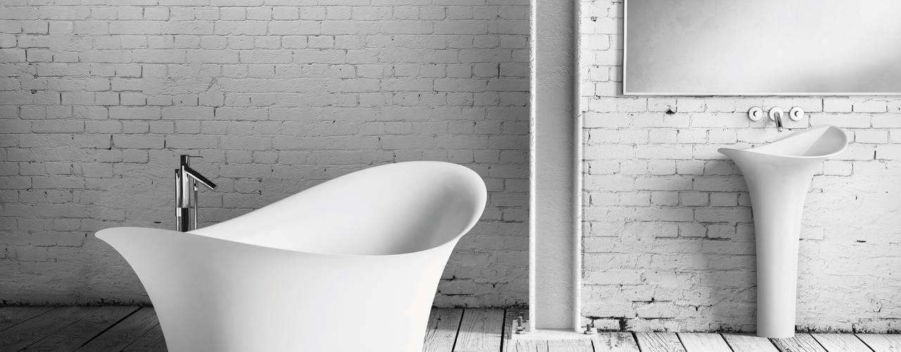 Ванные комнаты в . Автор – ZICCO GmbH - Waschbecken und Badewannen in Blankenfelde-Mahlow, Модерн