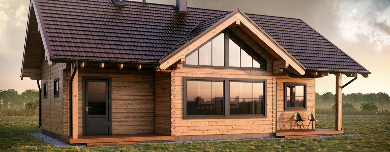 Log cabin by THULE Blockhaus GmbH - Ihr Fertigbausatz für ein Holzhaus