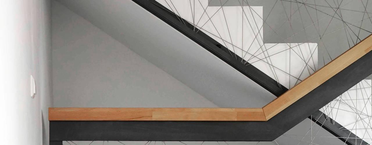 Grundkonzeption und Neubau eines Wohnhauses mit Nahversorger von boehning_zalenga koopX architekten in Berlin Minimalistisch