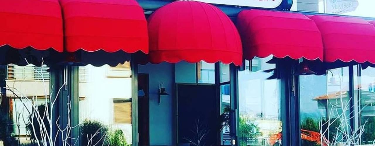 SKY İç Mimarlık & Mimarlık Tasarım Stüdyosu – MAESTRO COFFEE TASARIMI:  tarz ,