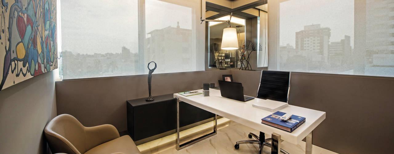 Decoração e Interiores   Consultório Médico de Dermatologia: Escritórios  por BG arquitetura   Projetos Comerciais