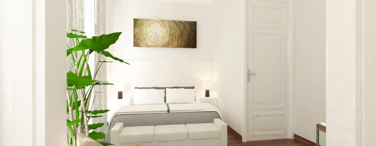 W HOUSE Kamar Tidur Gaya Kolonial Oleh Atelier BAOU+ Kolonial