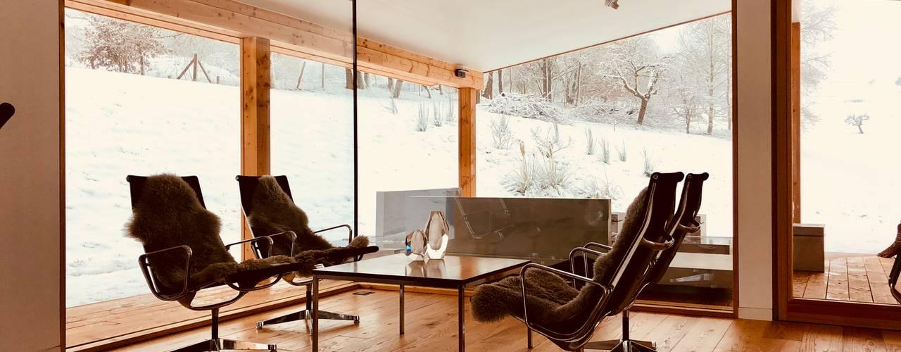 Gartenpavillon Moderne Arbeitszimmer von Karl Kaffenberger Architektur | Einrichtung Modern