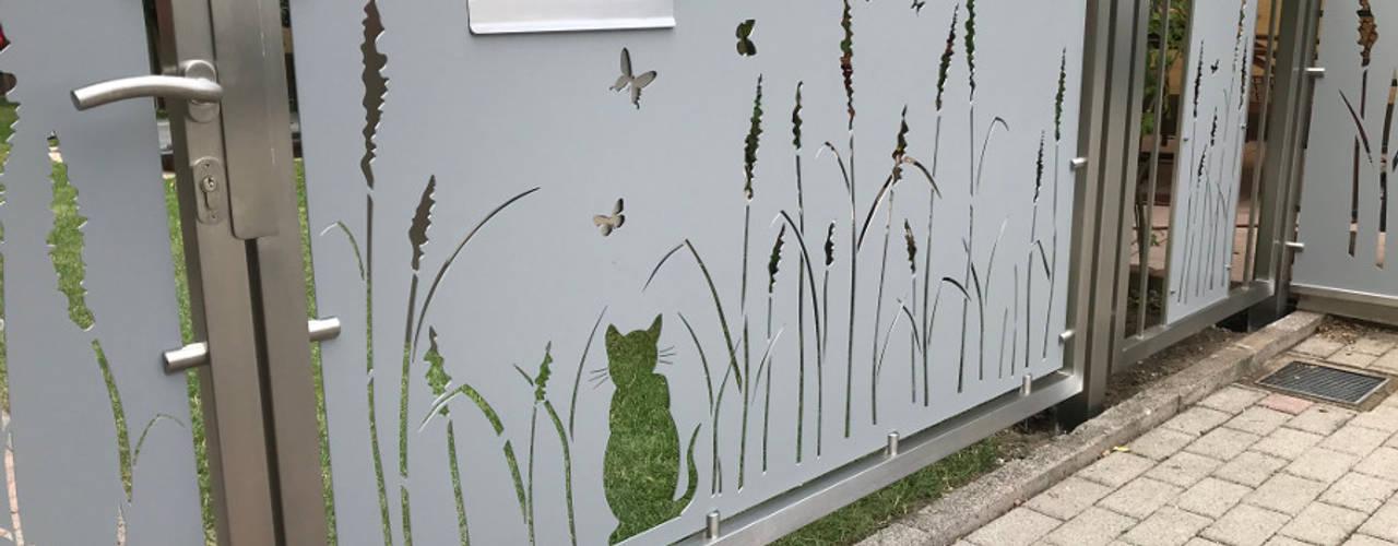 Sichtschutz von Edelstahl Atelier Crouse: Landhaus