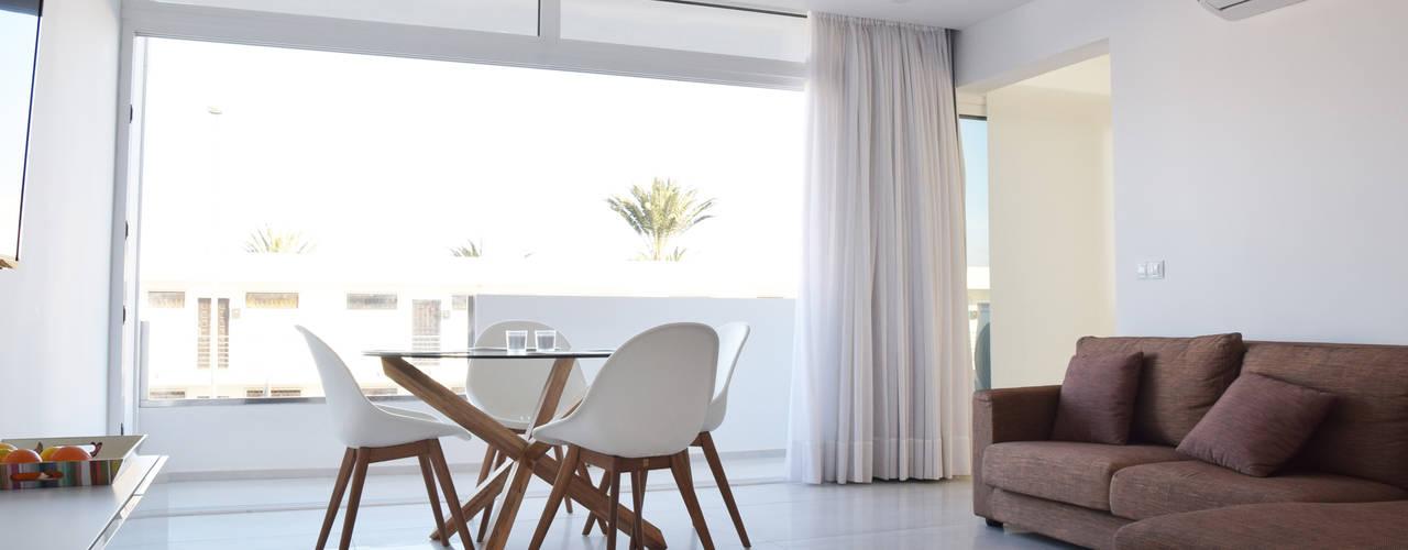 Reforma Apartamento Lujo Salones de estilo moderno de SP_Arquitectura Moderno
