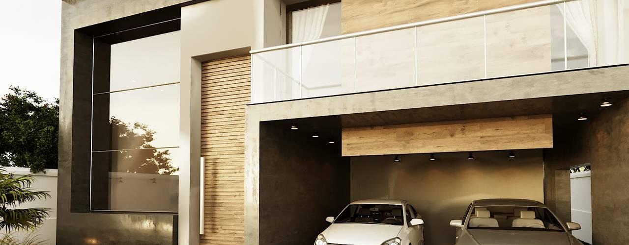 Projeto Casa Contemporânea OV: Condomínios  por Gelker Ribeiro Arquitetura | Arquiteto Rio de Janeiro,