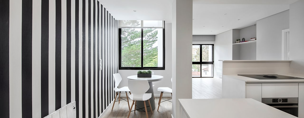 Projekty,  Jadalnia zaprojektowane przez ARQ1to1 - Arquitectura, Interiores e Decoração