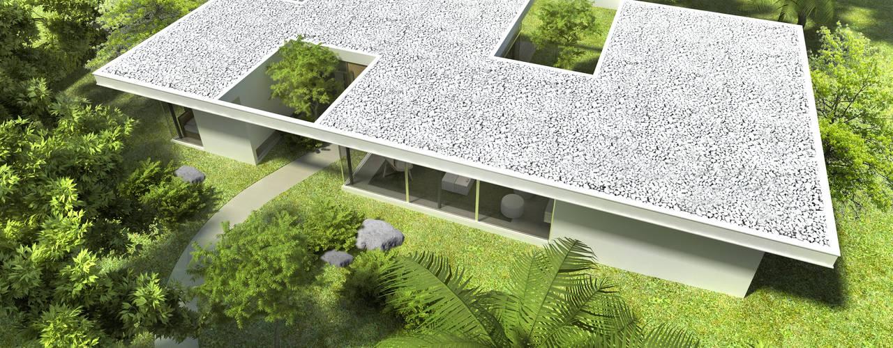 Maisons modernes par SMF Arquitectos / Juan Martín Flores, Enrique Speroni, Gabriel Martinez Moderne