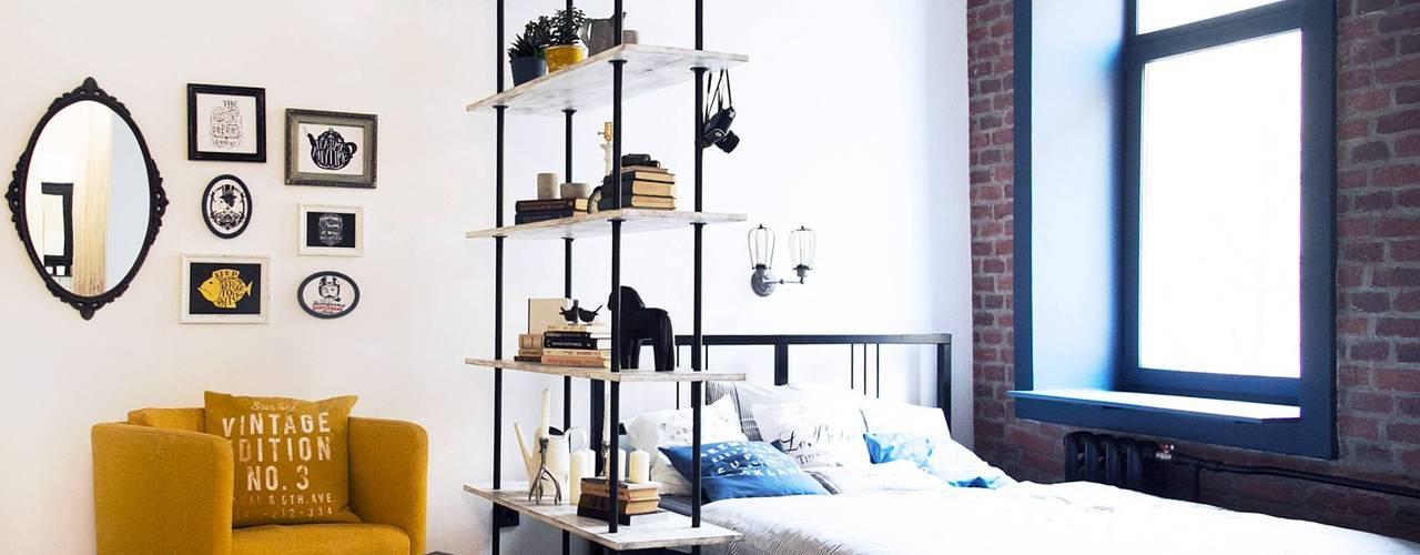 스칸디나비아 침실 by Bohostudio 북유럽