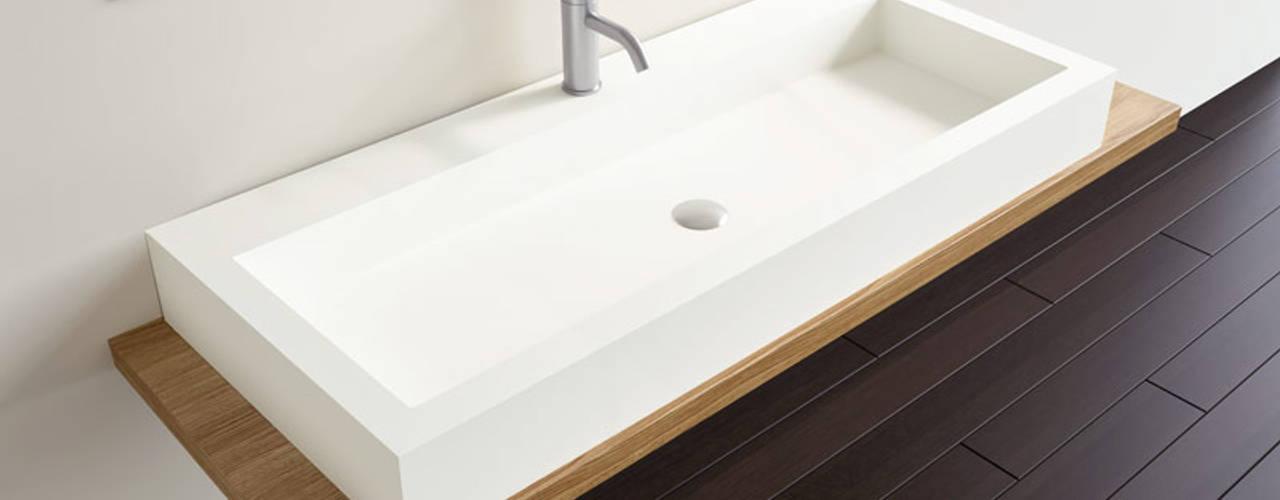 Mineralguss Waschbecken von Badeloft:  Badezimmer von Badeloft GmbH - Hersteller von Badewannen und Waschbecken in Berlin