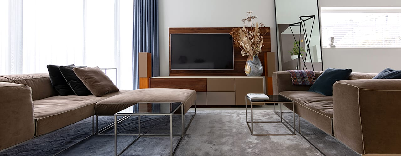 Soggiorno in stile  di Regina Dijkstra Design