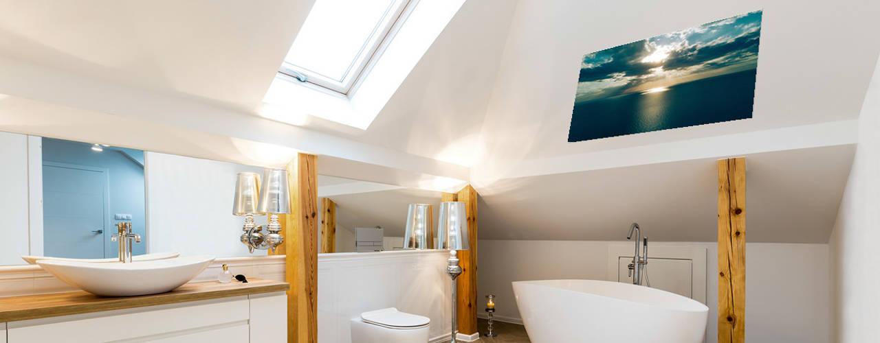 badkamer verwarming: modern  door Heat Art - infrarood verwarming, Modern
