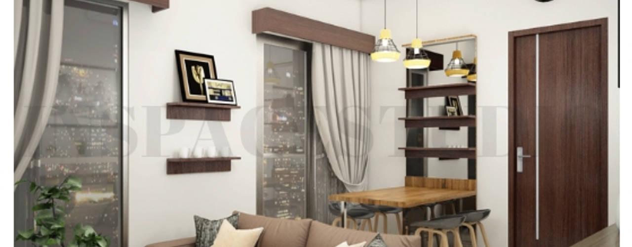 CB 02 Apartment Bandung Ruang Keluarga Modern Oleh Inspace Studio Modern
