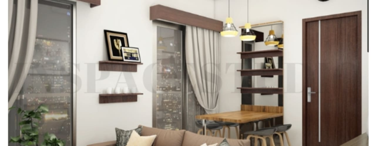 CB 02 Apartment Bandung:  Ruang Keluarga by Inspace Studio