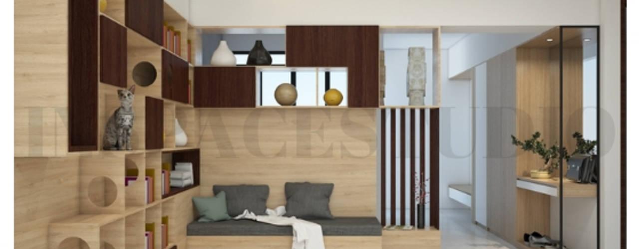 SL 09 House:  Koridor dan lorong by Inspace Studio