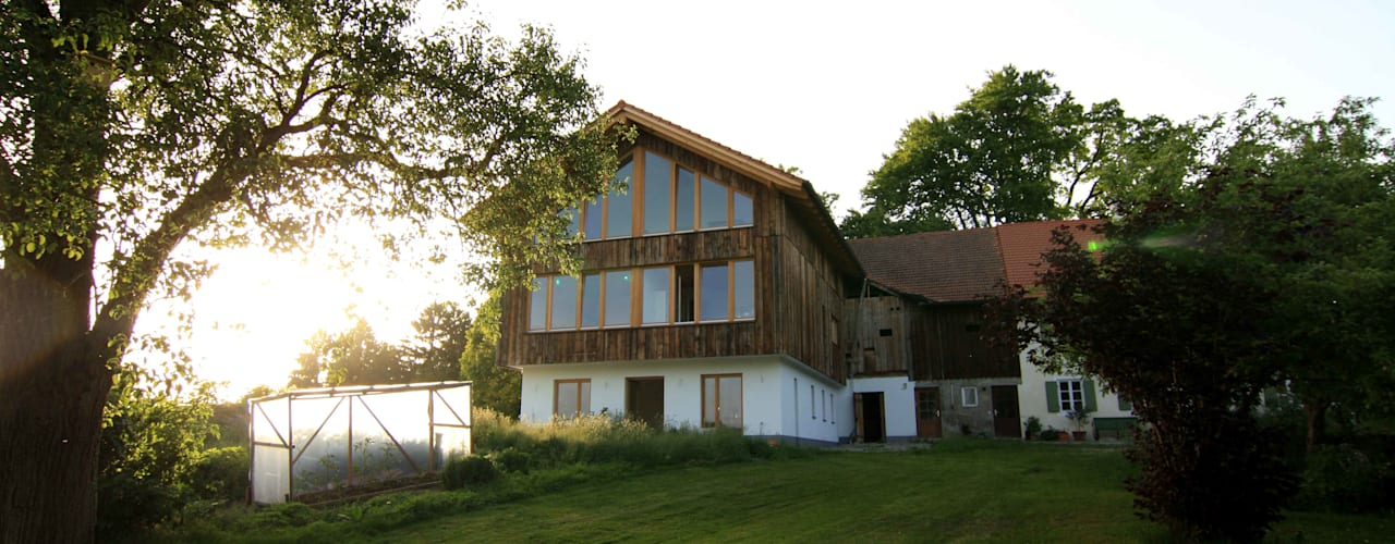 Einfamilienhaus am Maisinger See:  Häuser von WSM ARCHITEKTEN,