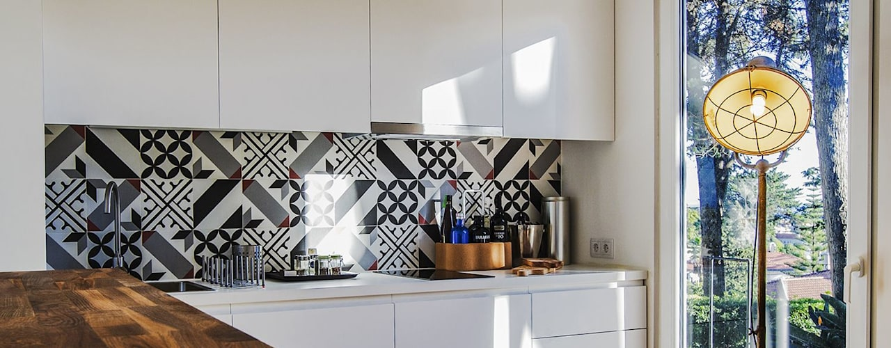 Habitação T1 Estoril goodmood - Soluções de Habitação Cozinhas pequenas