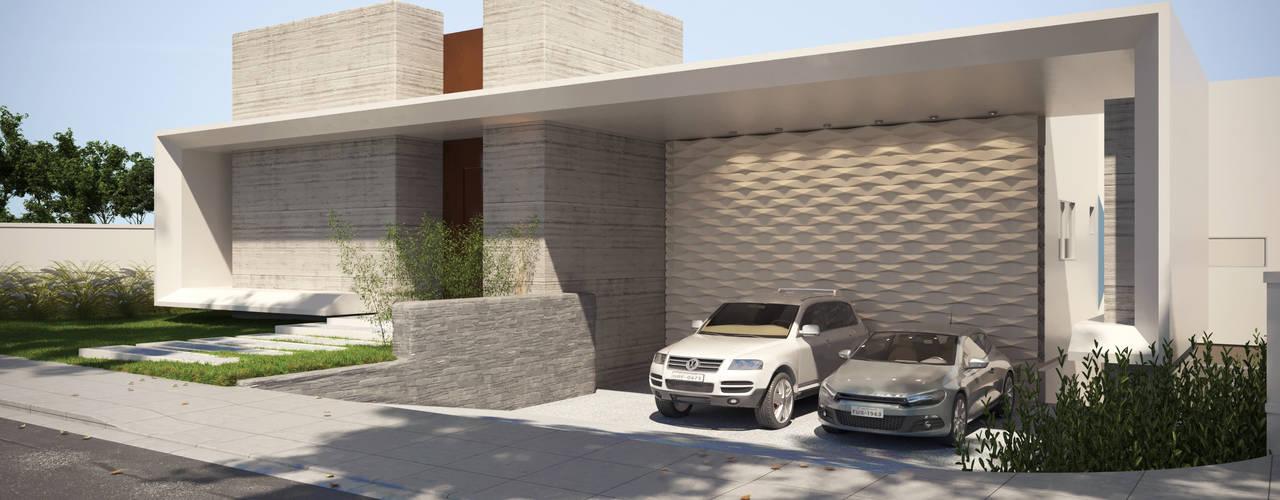 Projeto Casa Moderna JC Pendotiba Niterói Gelker Ribeiro Arquitetura | Arquiteto Rio de Janeiro Condomínios Concreto Branco