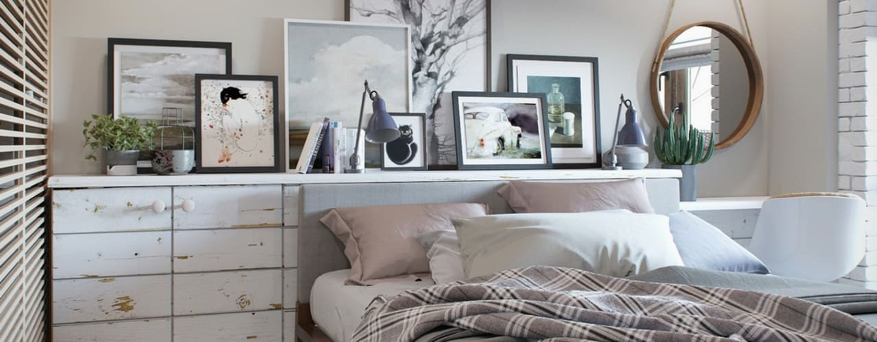 Barkod Interior Design Country style bedroom