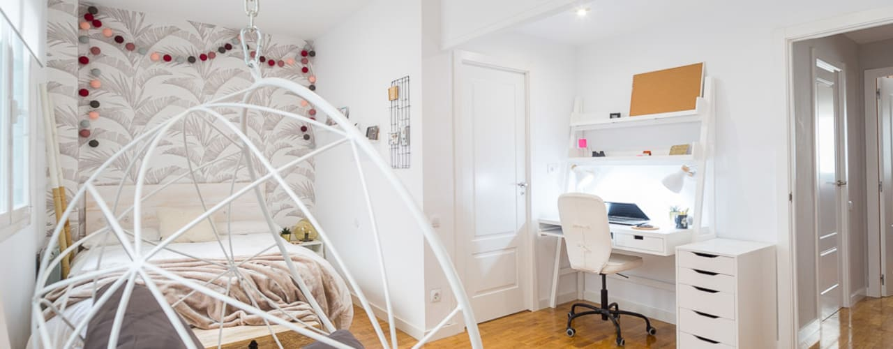 غرفة نوم تنفيذ Estudi Aura