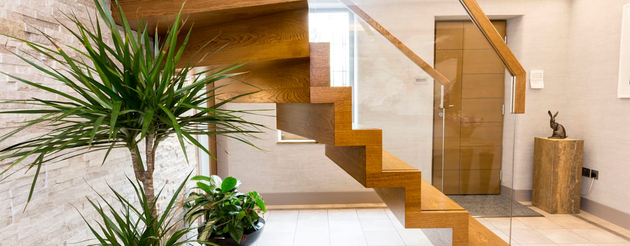 Zig-Zag Royal Siller Treppen/Stairs/Scale Stairs Wood Brown