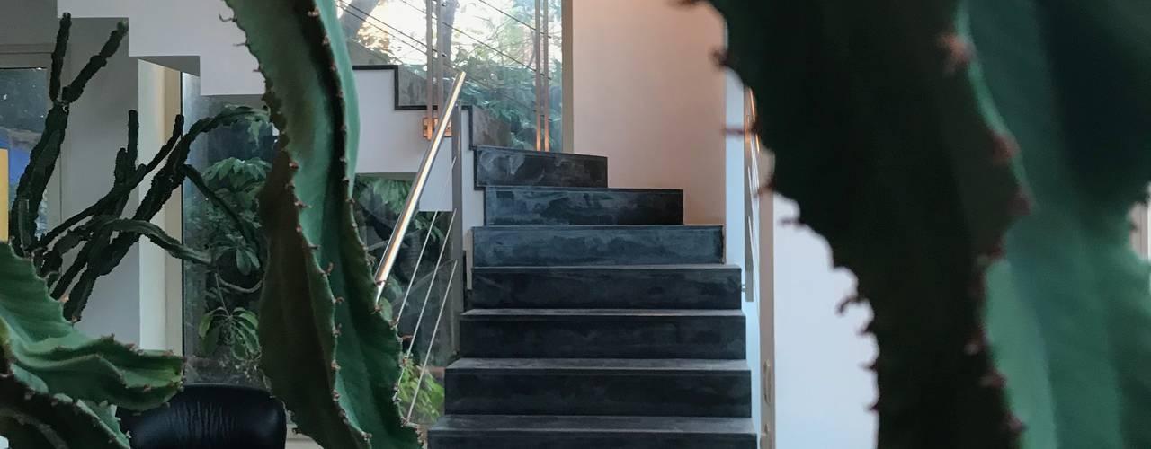 Werken met contrasten MEF Architect Trap Marmer Zwart