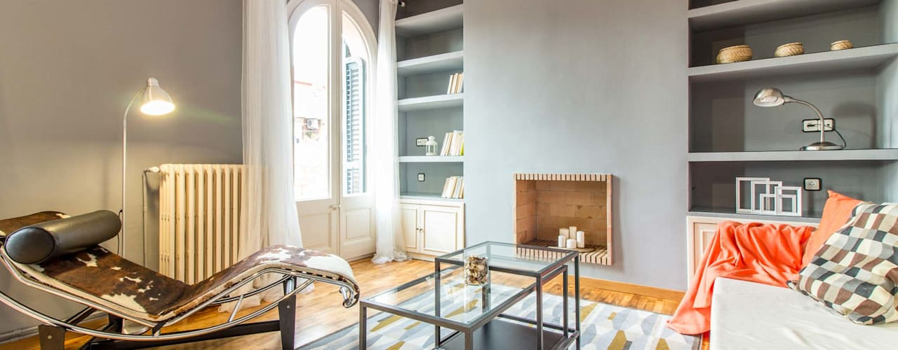 Salón: Salones de estilo  de Impuls Home Staging