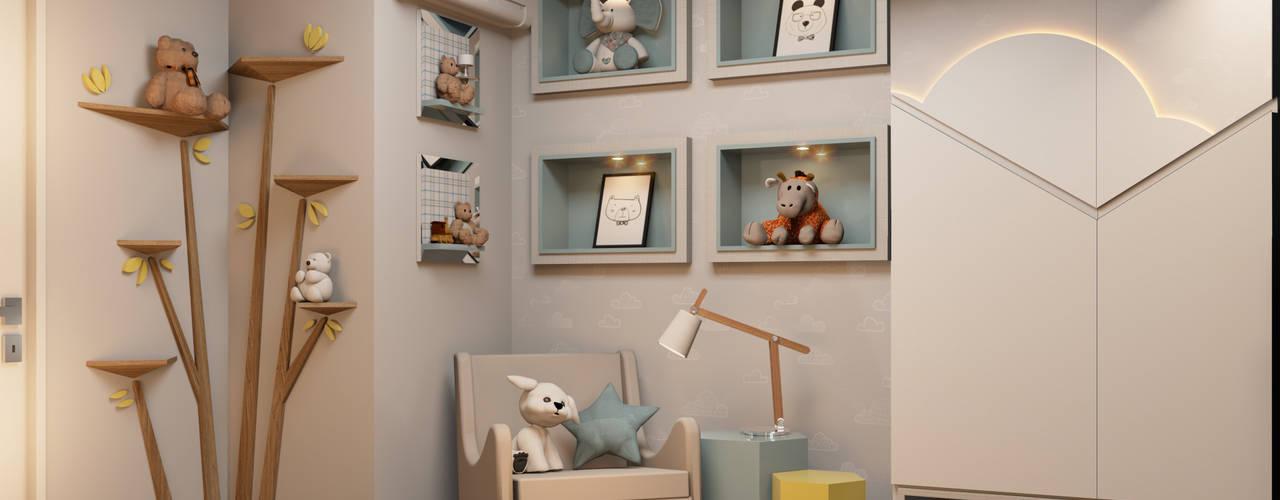 Baby room by Espaço Arquitetural | Arquitetos em Natal