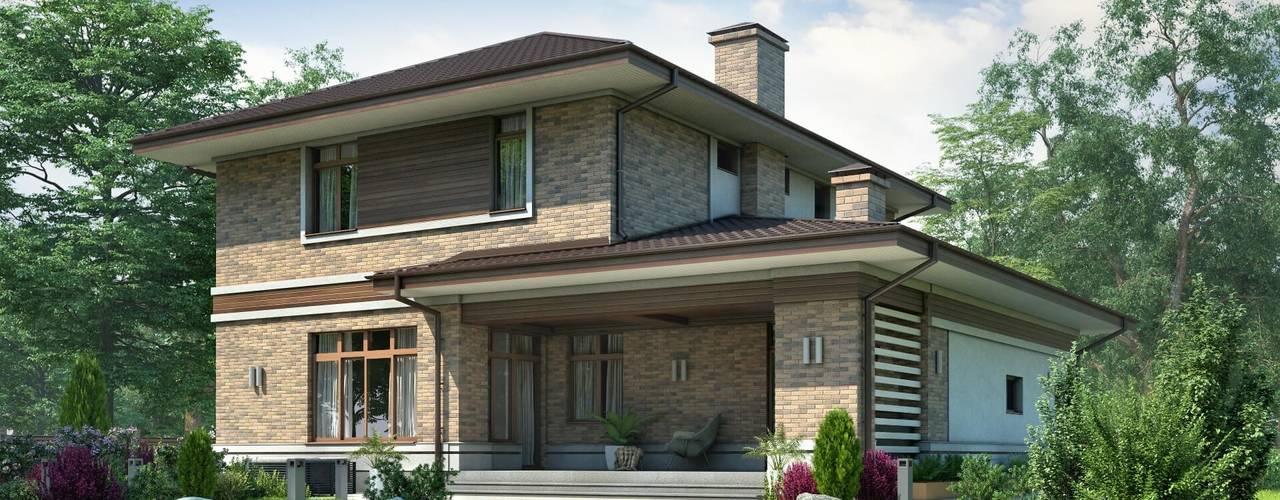 Верден-2_230 кв.м Дома в средиземноморском стиле от Vesco Construction Средиземноморский